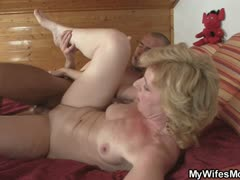 mother-in-law-helps-him-cum