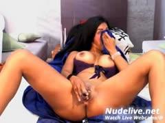 hottest-brunette-slut-squirt-in-her-own-mouth-on-webcam
