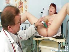 mature-olga-has-her-redhead-hairy-pussy-gyno-speculum