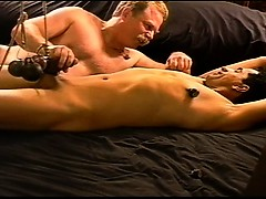 cbt-bottom-is-restrained-and-weights-cause-rope-to-pull-on