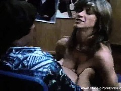 A Classic Blowjob From The Seventies
