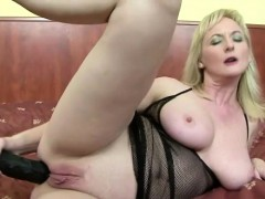 horny-50plus-blonde-housewife-toys-asshole