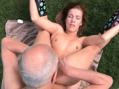 grandpa-cleans-and-fuck-alexis-s-shaved-pussy