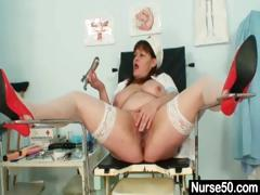big-tits-aged-lady-wears-nurse-uniform-and-gets-naughty