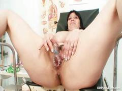 big-tits-plump-milf-zora-hairy-pussy-inspection