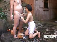 Japanese Cfnm Mixed Bathing Handjob Leads To Cumshot