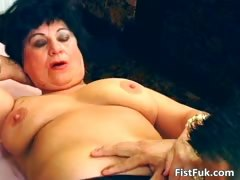 Horny mature slut got her pussy hardly part5