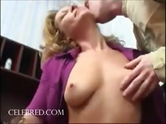 Fucking the mom pussy licking blonde blowjob riding double penetration anal threesome hardcore cumshot