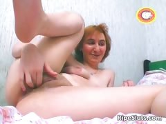 horny-redhead-milf-slut-rubbing-cunt-part5