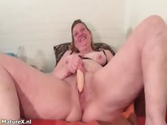 Nasty Brunette Slut Goes Crazy Getting Part1